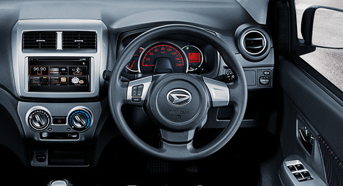 Interior Daihatsu Ayla Facelift