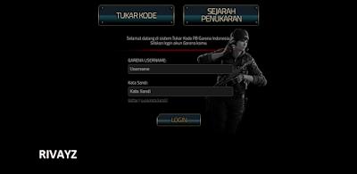 Kode Reedem PB Garena Indonesia 2016