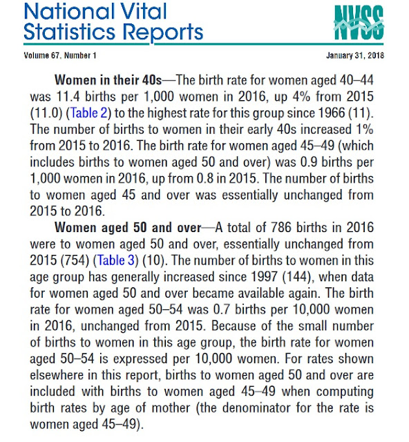 Image: Births and Natality, Births: Final Data for 2016, by CDC