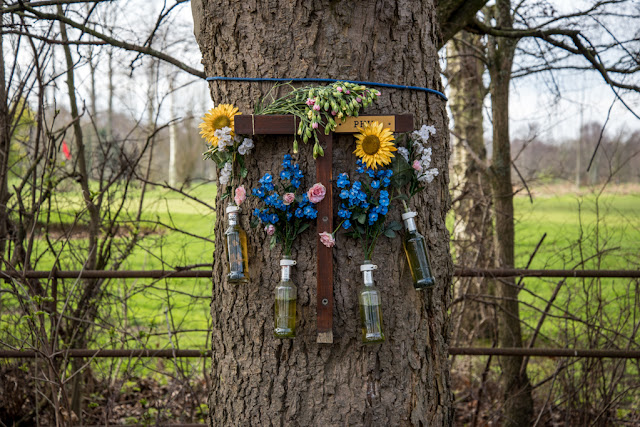 Roadside Shrine - Copyright C Goddard