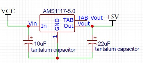 Typical Use of AMS1117