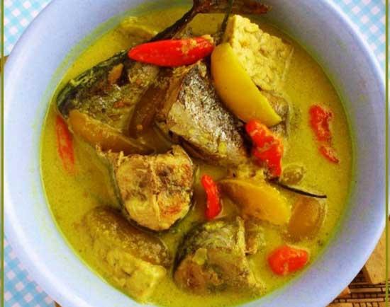 Resep Masakan Gulai Ikan Tongkol