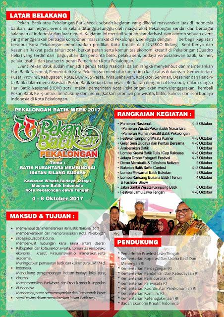 Pekalongan Batik Week 2017 - Pekan Batik Nusantara 2017
