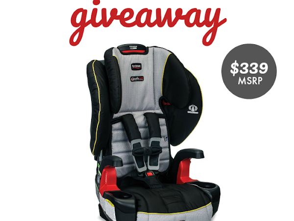 Britax Frontier ClickTight Harnessed Booster Seat #Giveaway