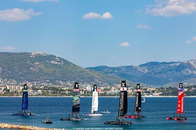 ACWS à Toulon, belle première journée de Franck Cammas et ses hommes