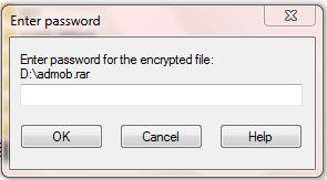 Cara Mudah Memberi Password Pada Winrar