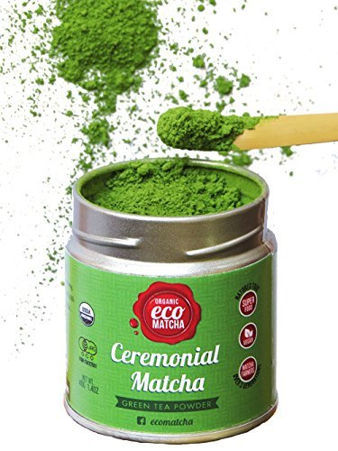 Ecoheed Ceremonial Grade Matcha Green Tea Powder