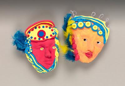 Manualidades máscaras de carnava