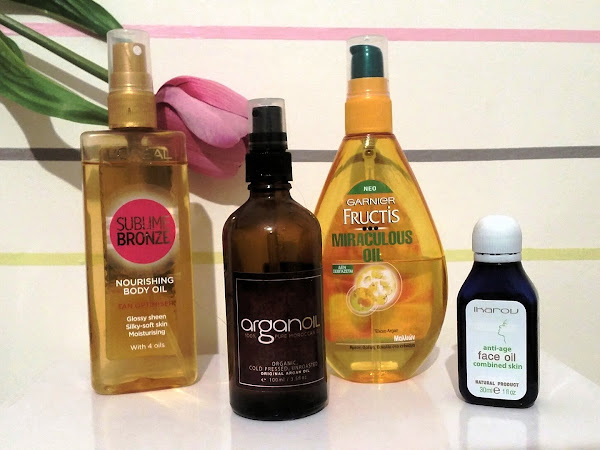 Beauty Oils for face, body and hair