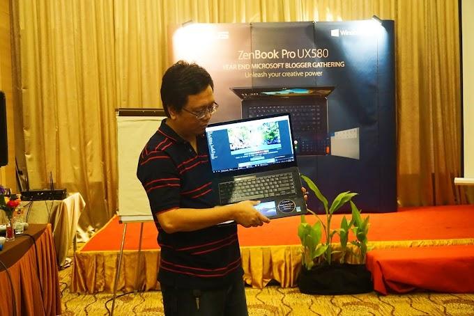 Kepincut ASUS ZenBook Pro 15 UX580, si Cantik nan Menginspirasi