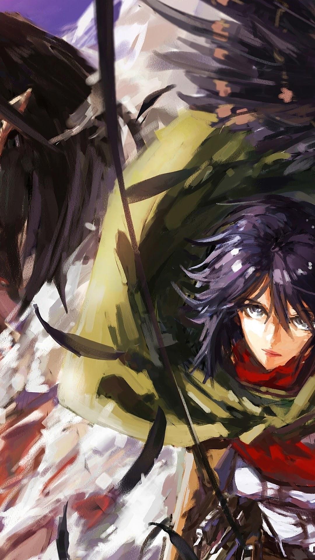 Mikasa Attack Titan Attack On Titan 4k Wallpaper 48