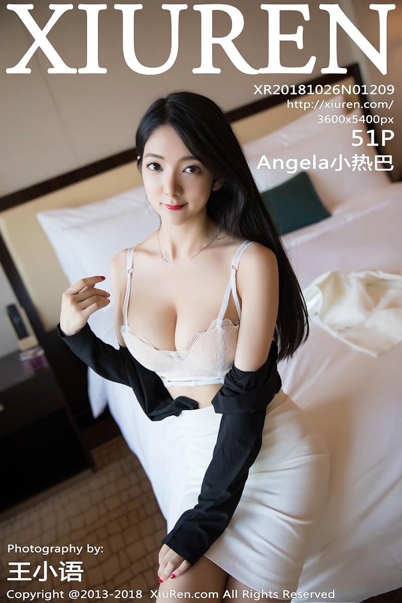 [XIUREN秀人网] 2018.10.26 No.1209 Angela小热巴 [51P177MB]