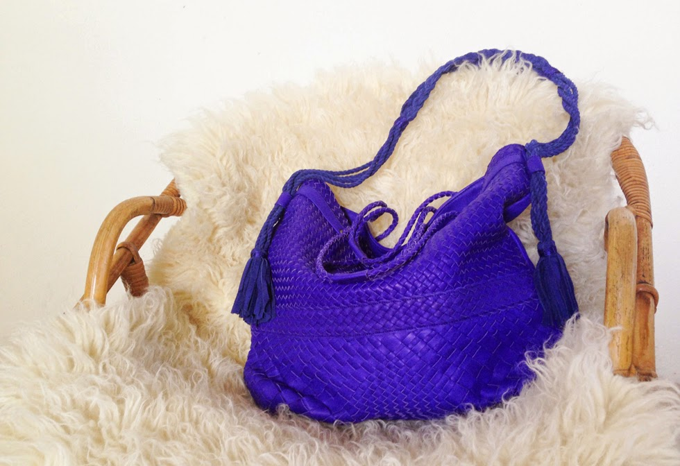 Sacs Claramonte bleu violet