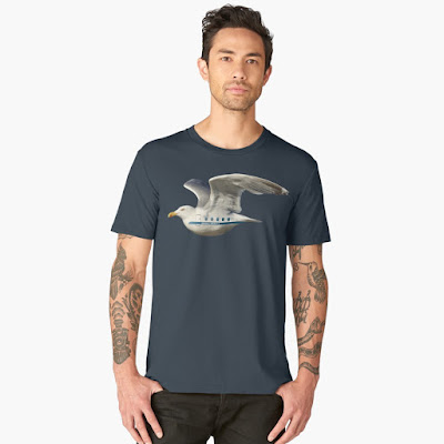 Seagull AIrlines | Seagull Airways t-shirts