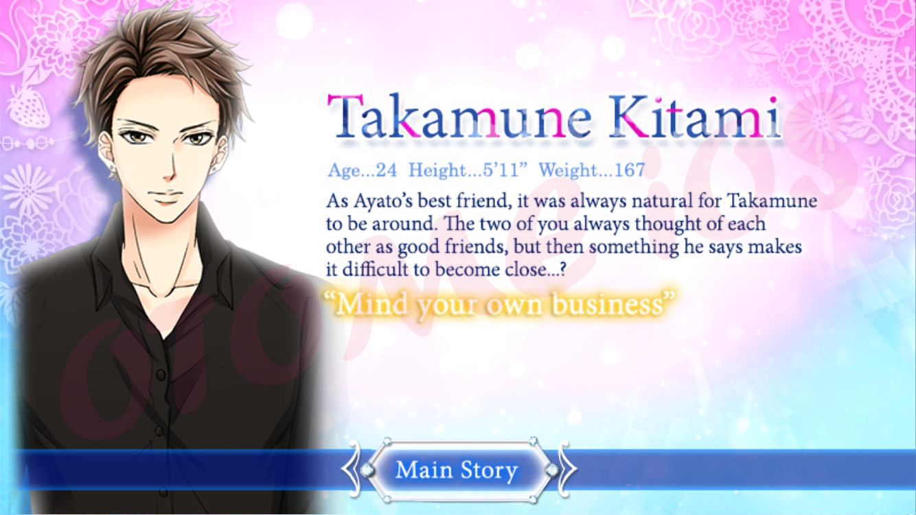 เฉลย] My Last First Kiss - Takamune Kitami : Main Story