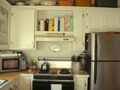 Before And After: First Step To A Refreshed Kitchen