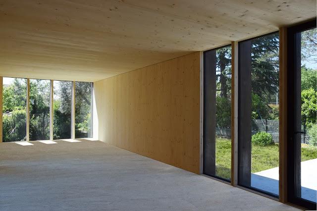 Prima Casa Passiva interno XLAM a vista