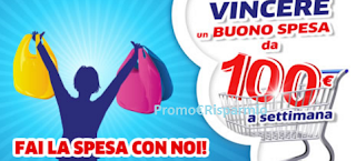 Logo Con Henkel fai la spesa 2017 e vinci buoni da 100 euro