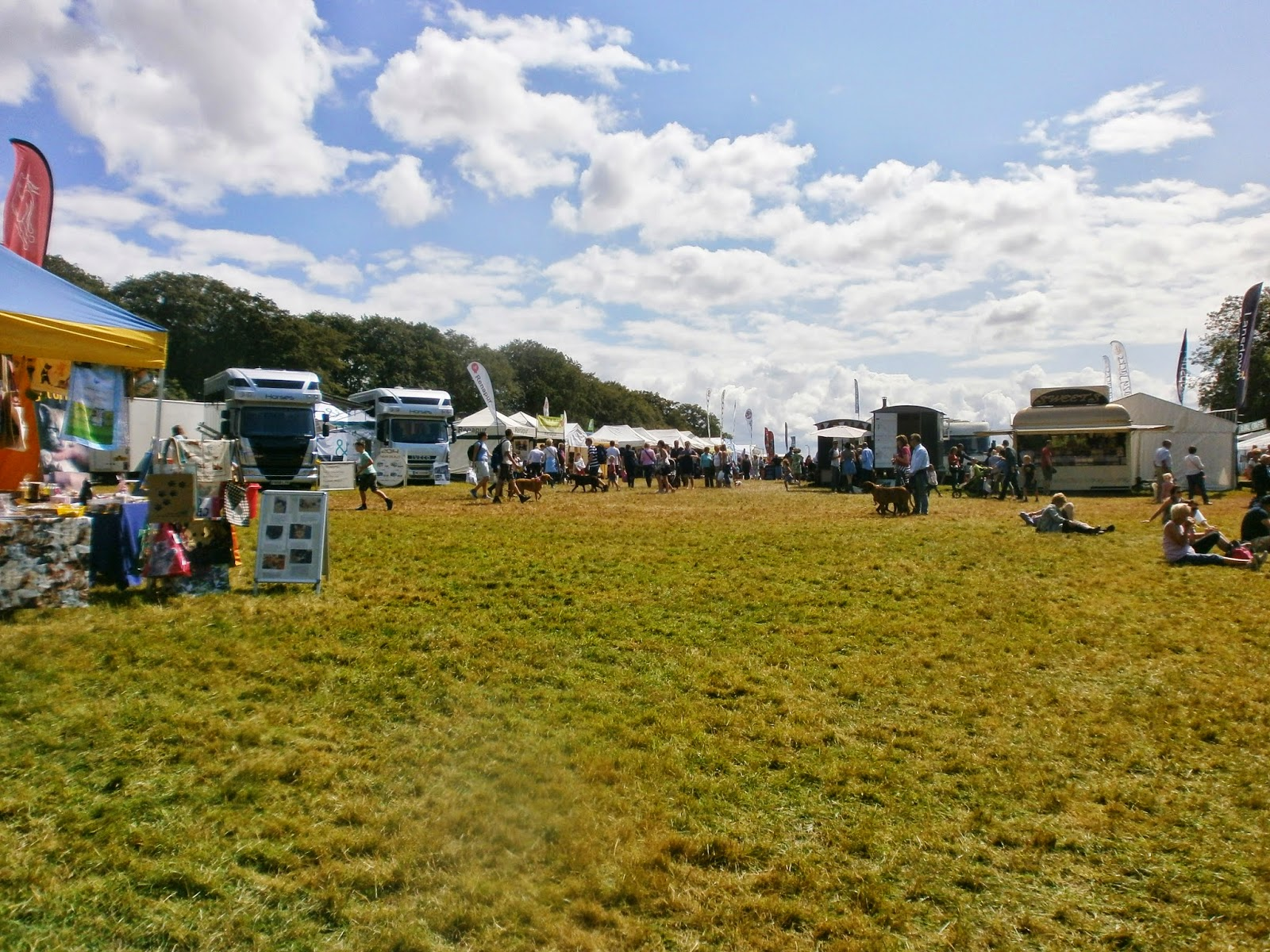 shopping village at Gatcombe Park