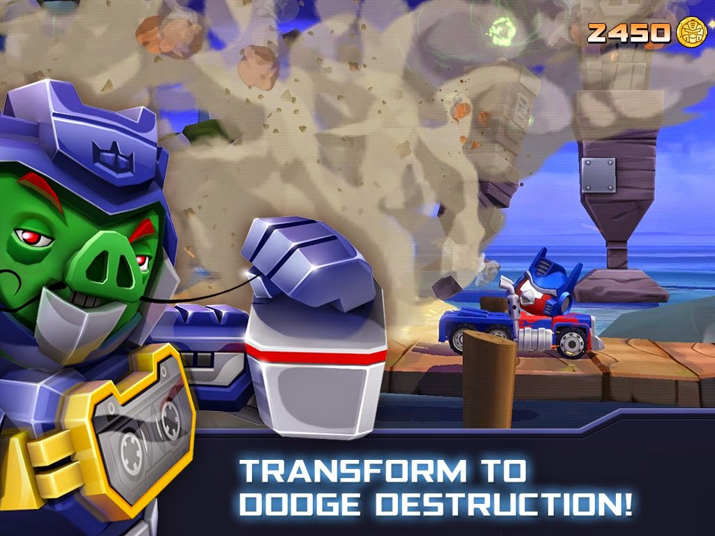 Angry Birds Transformers for Android