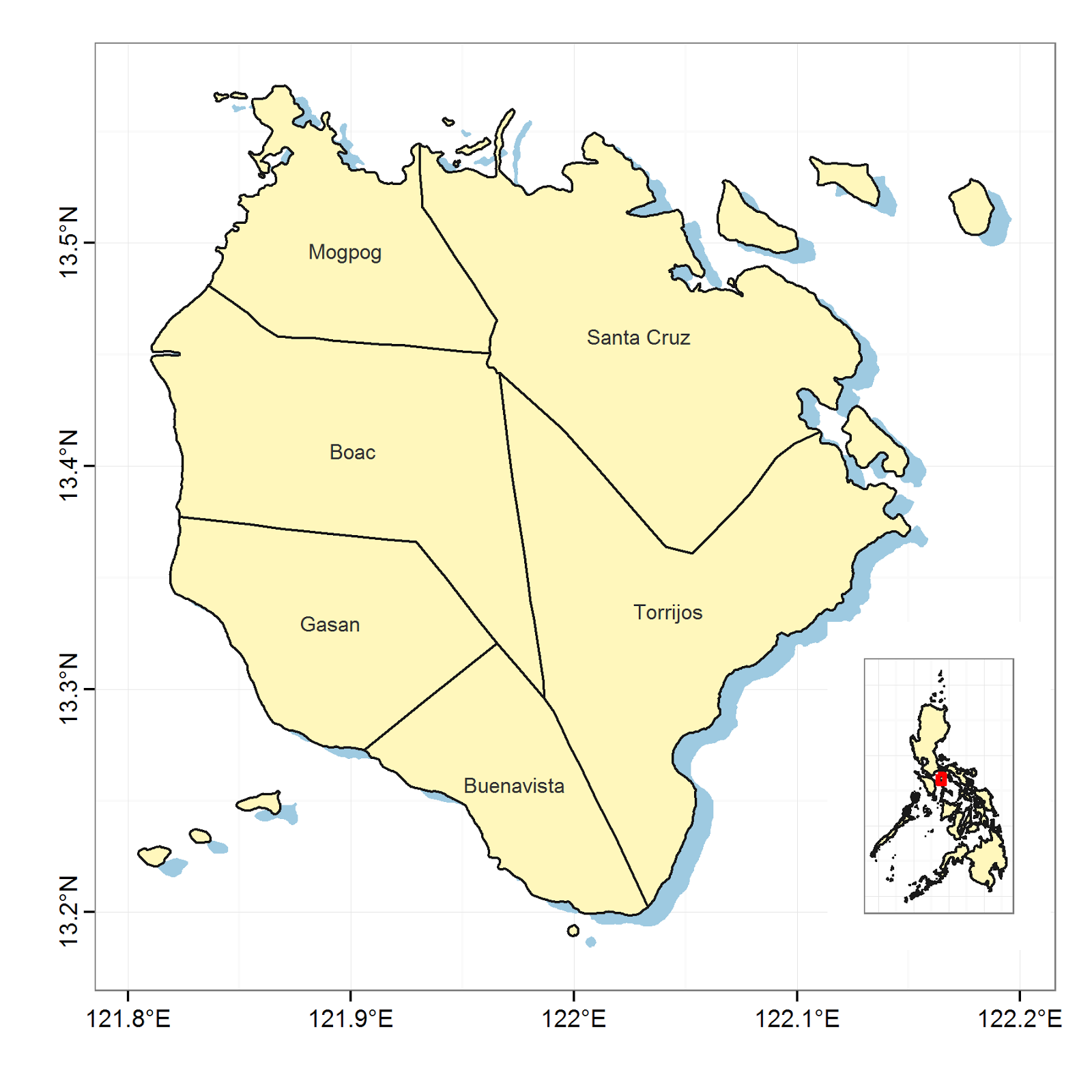 Creating Inset Map with ggplot2 | R-bloggers