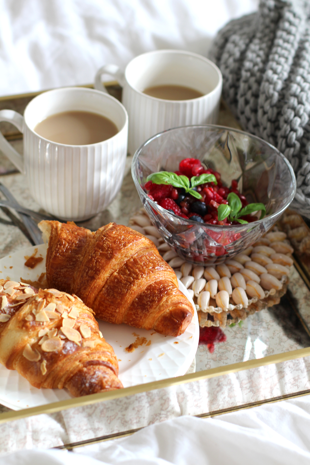 Breakfast in bed - UK lifestyle & interiors blog