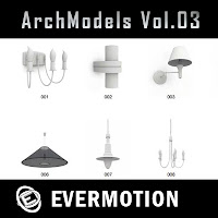 Evermotion Archmodels vol.03單體3dsMax模型合集第03期下載