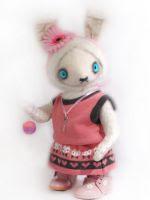 patron gratis conejo de tela