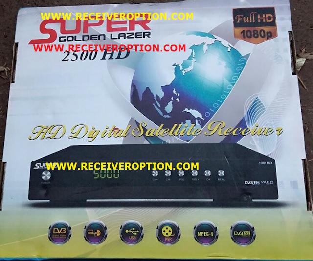 SUPER GOLDEN LAZER 2500 HD RECEIVER POWERVU KEY NEW SOFTWARE