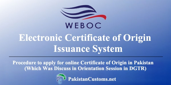 Electronic-Certificate-of-Origin-in-Pakistan