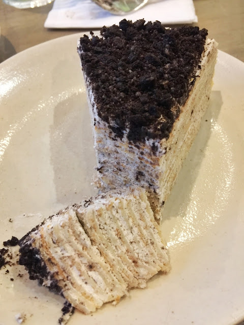 Crepe Amelie cakes Antel 2000 Valero Makati City Cookies and Cream