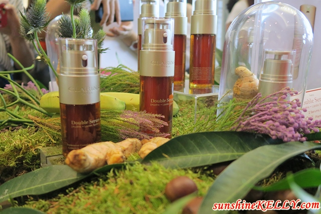 Clarins NEW Double Serum Is Powered with Turmerone, Turmeric
