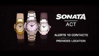 SONATA ACT Watches Banner