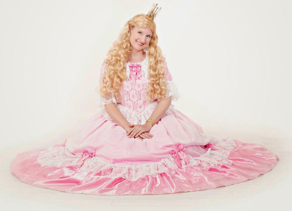 Eventyrprinsessen kommer på visit