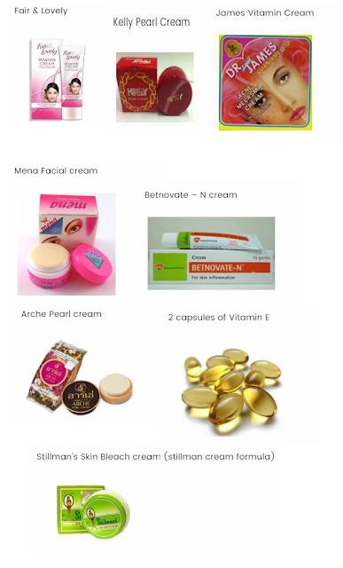 File:Whitening Face Cream Formula.svg