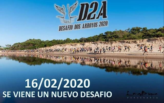 19k y 10k Desafío Dos Arroyos de Halcones (desde Arroyo Carrasco a Arroyo Pando, 16/feb/2020)