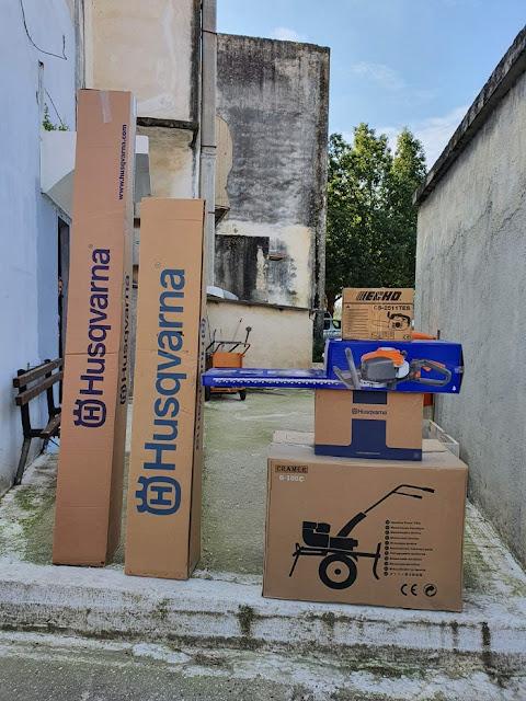 Δήμος Ανδραβίδας- Κυλλήνης: Παραλαβή εξοπλισμού μηχανημάτων για τον Τομέα Καθαριότητας