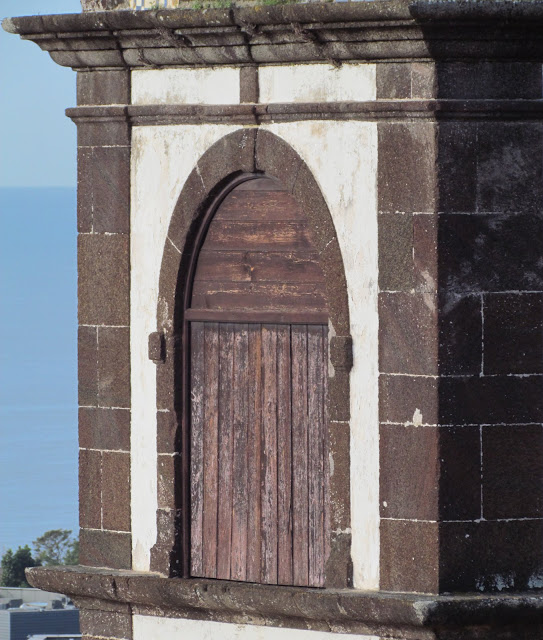 the door in Santa Clara church tower