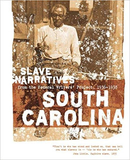 Book cover art for Slave Narratives: South Carolina
