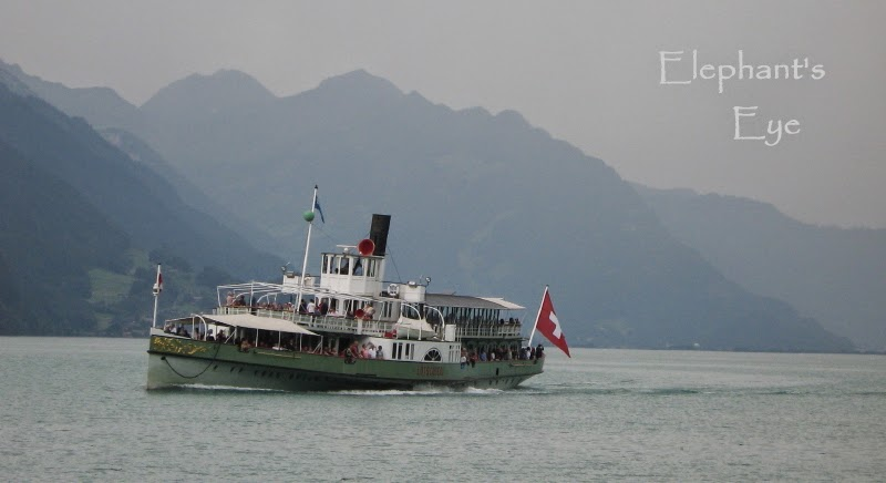 Steamer on Lake Brienz