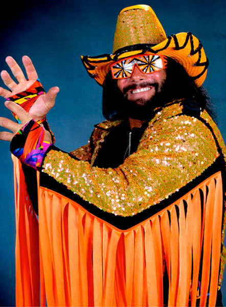 Pressing Catch WWF - Macho Man