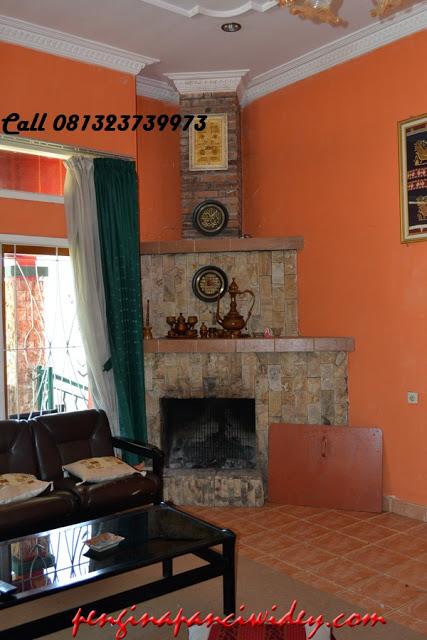 Booking villa di area wisata kawah putih dari lamongan