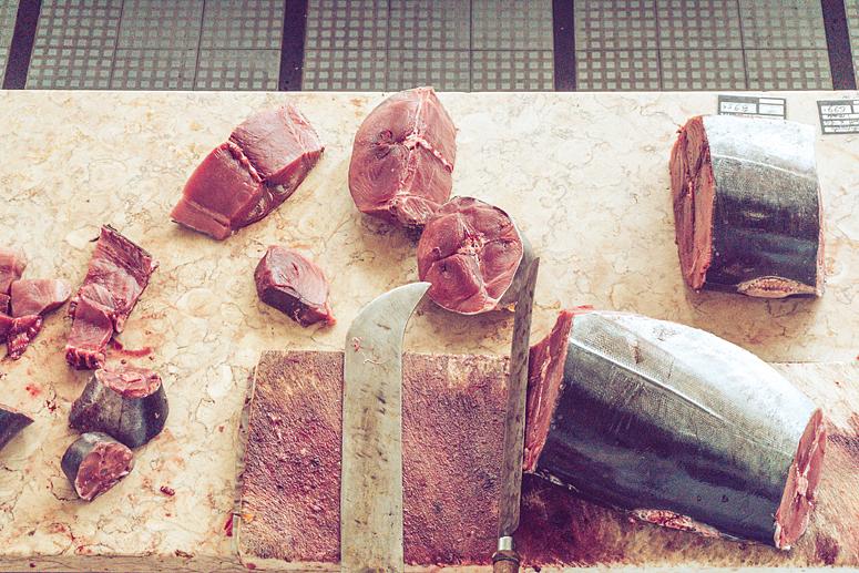 Tuńczyk na Mercado dos Lavradores