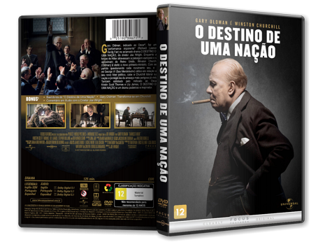 Capa DVD O Destino de Uma Nação [Custom]