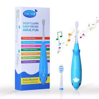 cepillo de dientes eléctrico infantil