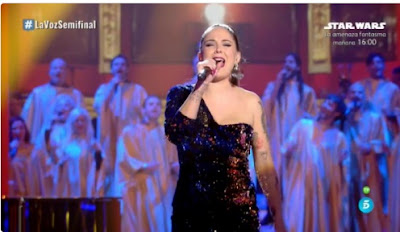 Alba: Carry That Weight. Semifinal La Voz 2017