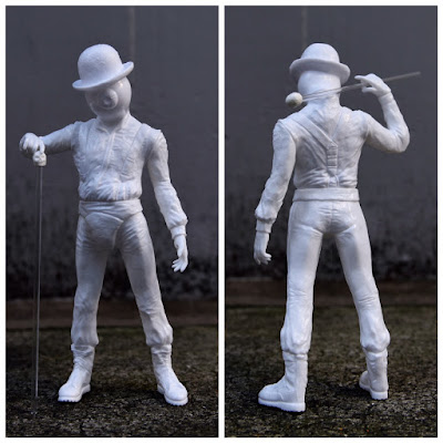 Nadsat Boy Sofubi Vinyl Figure by Milkboy x Kenth Toy Works