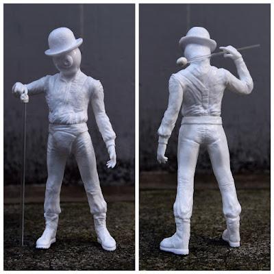 Nadsat Boy Sofubi Vinyl Figure by Milkboy x Kenth Toy Works