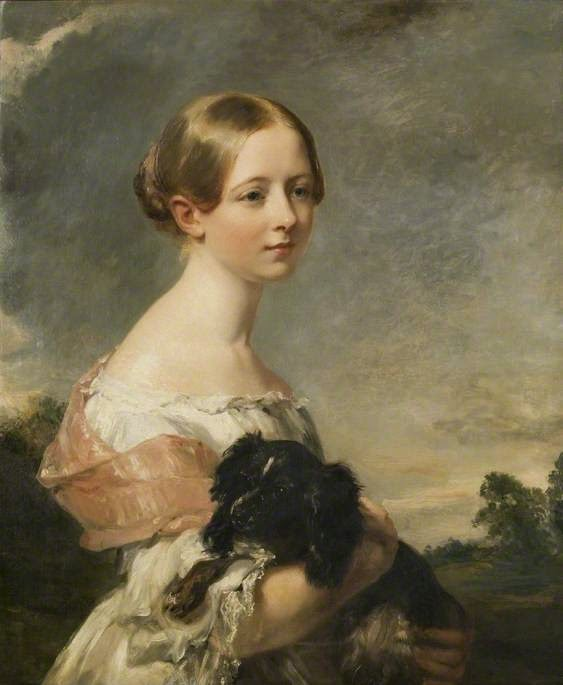 Miss Theobald (1840), Margaret Sarah Carpenter