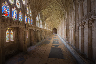 Photograph of Gloucester Cathedral Cloisters